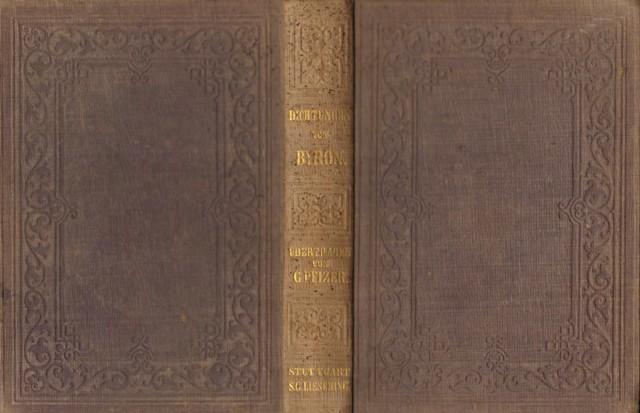 Dichtungen von Byron.