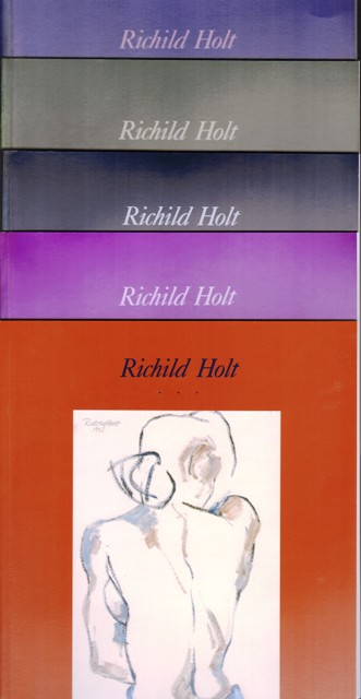 Richild Holt. Paintings and drawings. Caesura. 1988 - 1990. Paintings and works on paper. Sports.