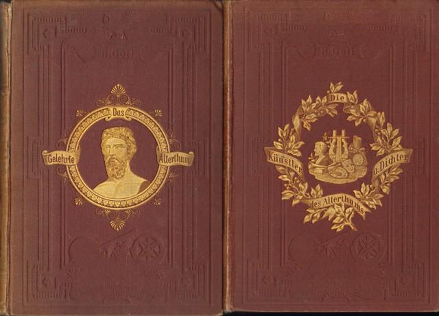 Gallerie der Meister in Wissenschaft und Kunst. 2 Bände.