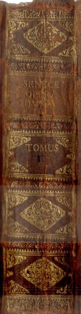 L. Annaei Senecae Philosophi Opera Omnia. Accessit a viris doctis ad Senecam annotatorum delectus. Tomus I. (Band 1 von 2).