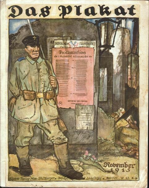 Das Plakat. Zeitschrift des Vereins der Plakatfreunde. 6. Jahrgang, Nummer 6, November 1915.