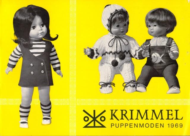 Krimmel Puppenmoden 1969.