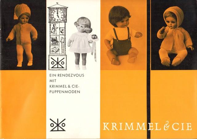 Ein Rendezvous mit Krimmel & Cie-Puppenmoden.