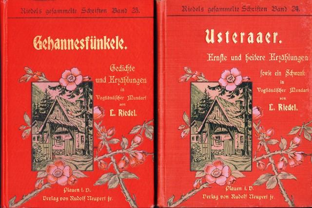 Riedels gesammelte Schriften, Band 23 und 24.