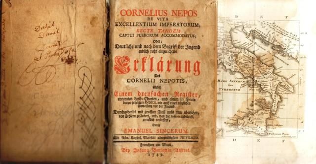 Nepos, Cornelius, De vita excellentium imperatorum, recte tandem captui puerorum accommodatus; Oder: Deutliche, und nach dem Begriff der Jugend endlich recht eingerichtete Erklärung des Cornelii Nepotis,