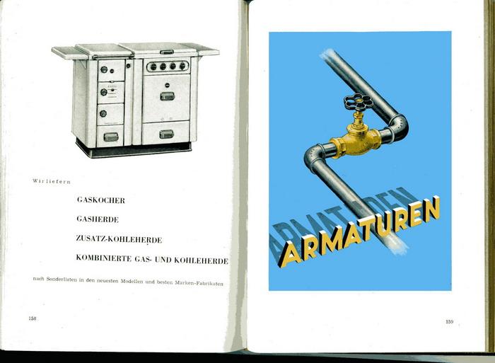 Daniel & Jäger, (Herausgeber), Daniel & Jäger. Sanitäre Einrichtungen und Installationsmaterial, Stuttgart - W. Katalog 1953.