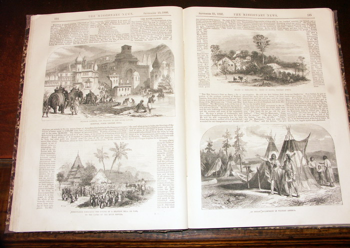 The Pictorial missionary news, containing anecdotes, histories, biographies, correspondence, and intelligence from all the missionary societies of the globe; with original contributions by representatives of the principal societies. Volume I.