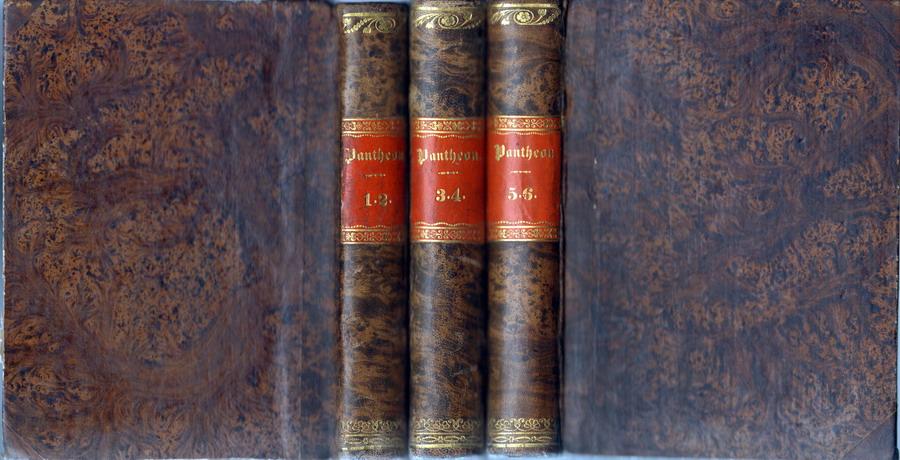 Pantheon auserlesener Erzählungen des Auslandes. 6 (von 12) Bände in 3 Büchern.