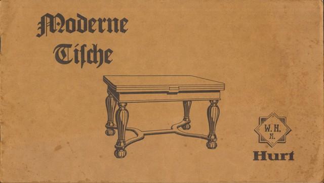 Hurt, W. H. N., Moderne Tische.