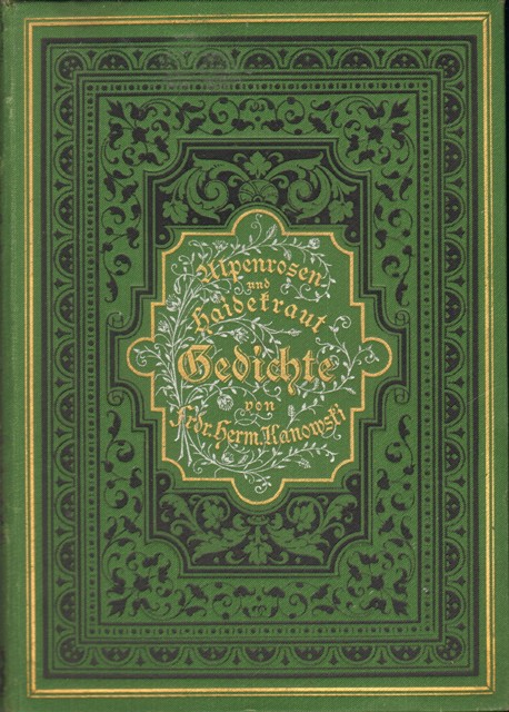Alpenrosen und Haidekraut (Heidekraut). Gedichte.