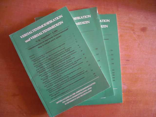 Verhaltensmodifikation und Verhaltensmedizin. Mitteilungsorgan der Arbeitsgemeinschaften für Verhaltensmodifikation (AVM) in Österreich und Deutschland. 14. Jahrgang, Hefte 1 bis 4