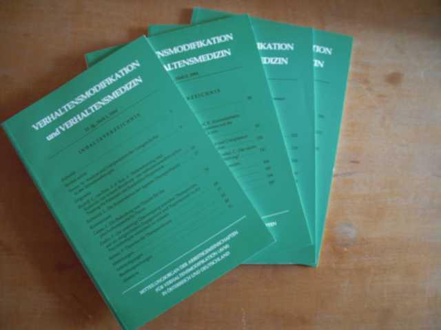 Verhaltensmodifikation und Verhaltensmedizin. Mitteilungsorgan der Arbeitsgemeinschaften für Verhaltensmodifikation (AVM) in Österreich und Deutschland. 15. Jahrgang, Hefte 1 bis 4