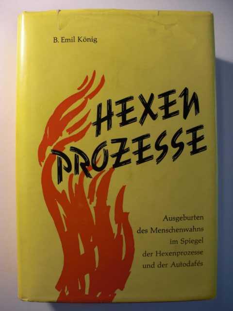 Hexenprozesse : Ausgeburten des Menschenwahns im Spiegel der Hexenprozesse und der Autodafes : erste Auflage der Neuausgabe :