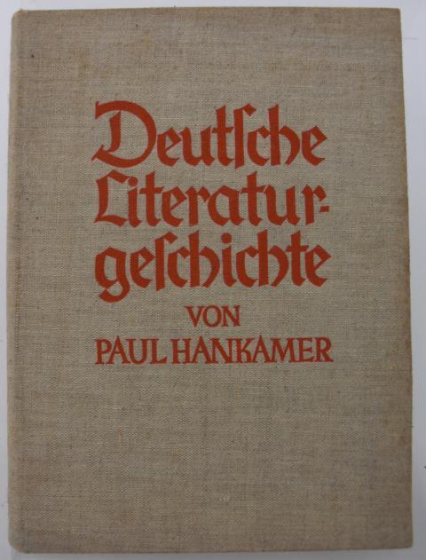 Deutsche Literaturgeschichte erste Auflage :