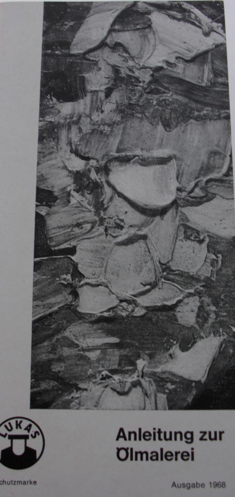 Anleitung zur Ölmalerei Ausgabe 1968