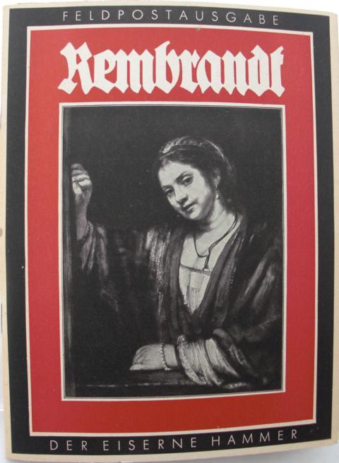 Rembrandt : Feldpostausgabe : Das Gute für Alle : Karl Rober Langewiesche : Feldpostausgabe :
