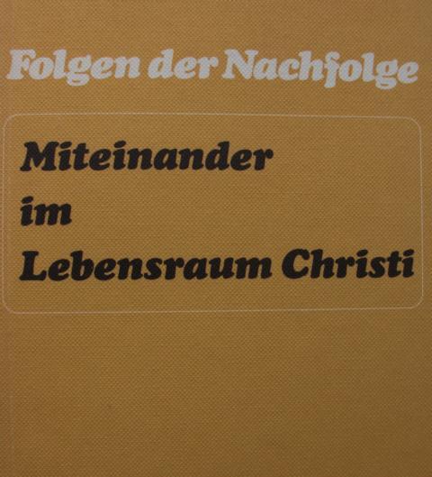 Folgen der Nachfolge - Miteinander im Lebensraum Christi : 15 Predigten in der Stiftskirche Tübingen. 1. Auflage : - Evang. Studentengemeinde Tübingen [Hrsg.]