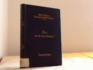 Tod, wo ist dein Stachel? Sammlung von Predigten am Totenfest. In Verbindung mit Freunden herausgegeben von Emil Ohly.