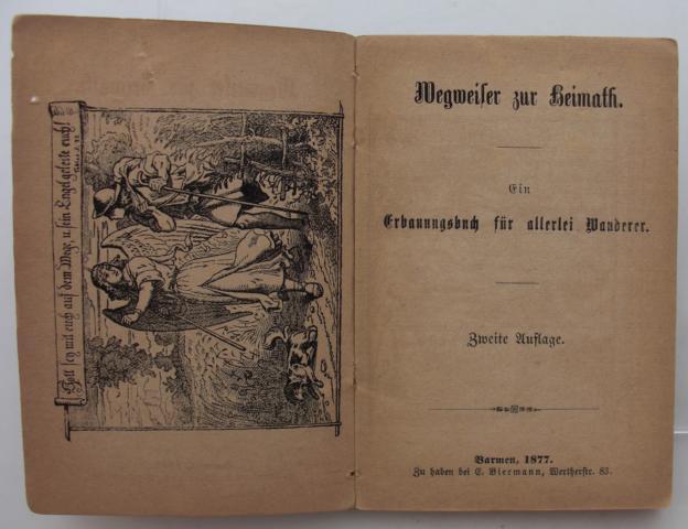 Wegweiser zur Heimath : Ein Erbauungsbuch für allerlei Wanderer zweite Auflage :
