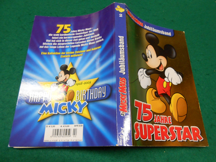 >75 Jahre Superstar. Micky Maus Jubiläumsband Nr. 2.