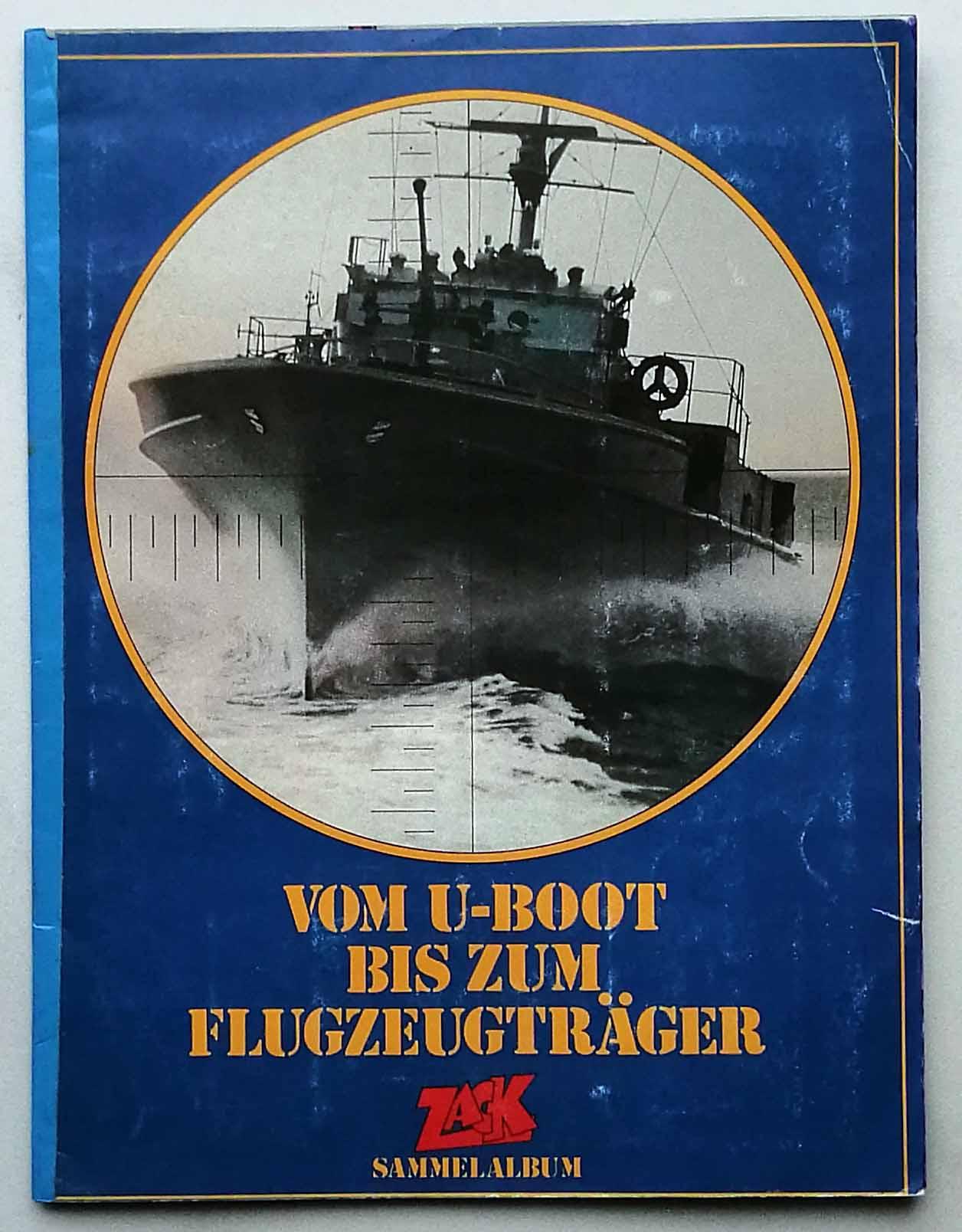Vom U-Boot bis zum Flugzeugträger.
