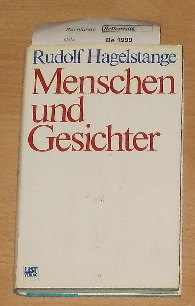Menschen und Gesichter. 1. Aufl.
