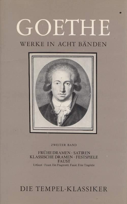 Goethe Werke in Acht Bänden