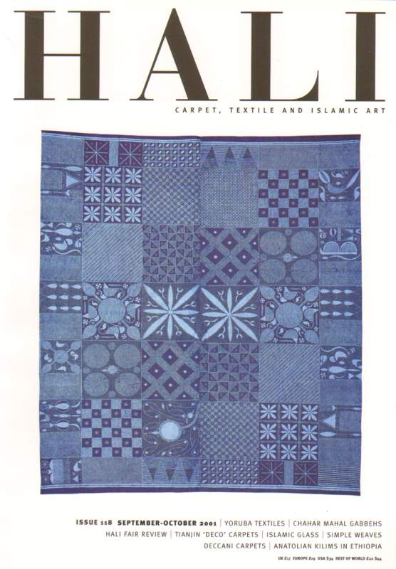 Hali - Carpet, Textile and Islamic Art - Issue 118