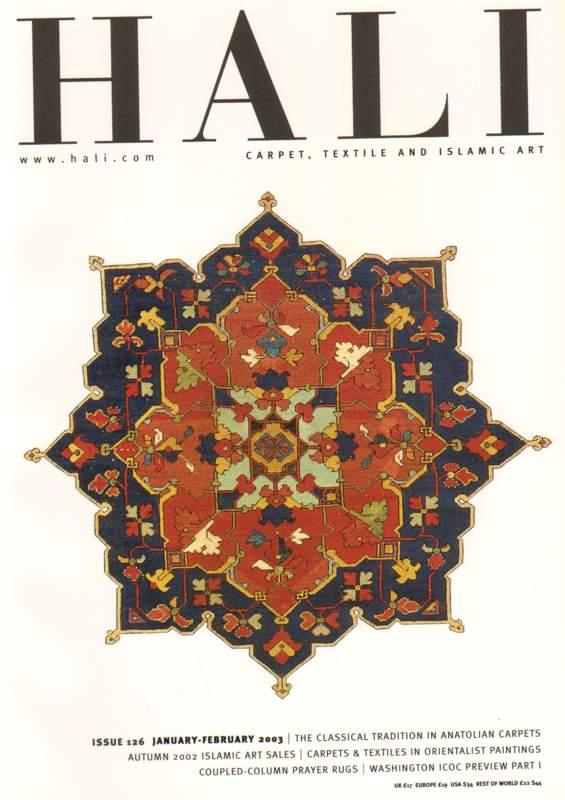 Hali - Carpet, Textile and Islamic Art - Issue 126