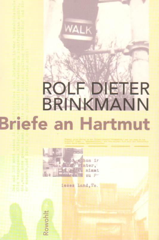 Briefe an Hartmut 1974 - 1975 1. Auflage