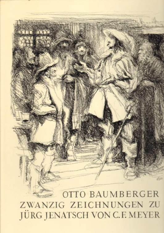 Zwanzig Zeichnungen zu Jürg Jenatsch von C. F. Meyer