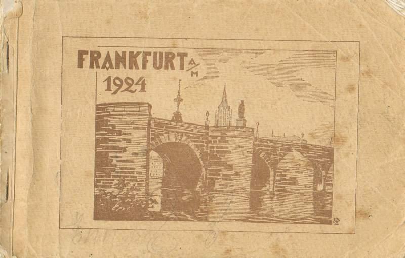 Frankfurt a. M. 1924.