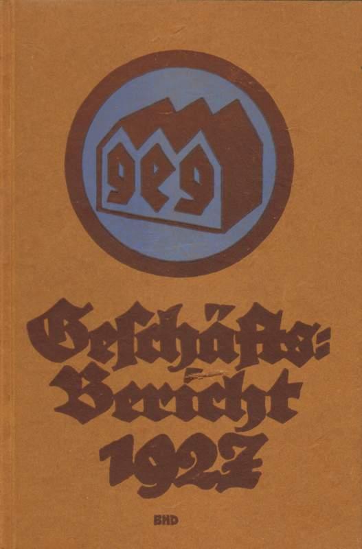 Geschäfts-Bericht 1927.