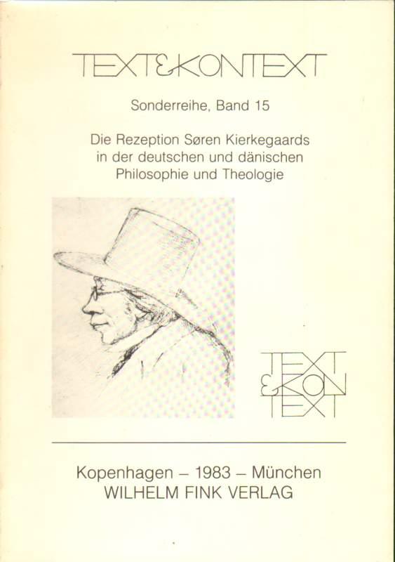 Die Rezeption Sören Kierkegaards in der deutschen und dänischen Philosophie und Theologie.