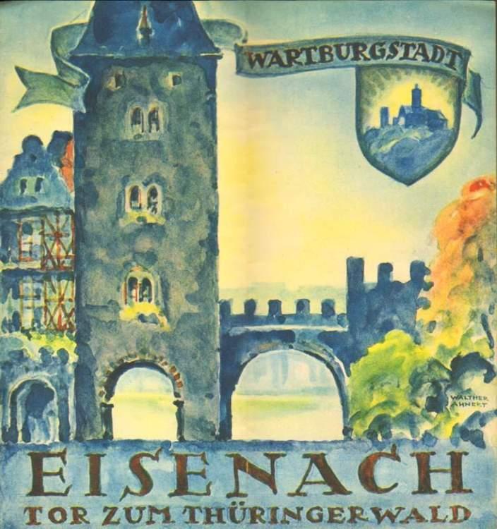 Eisenach. Tor zum Thüringerwald.