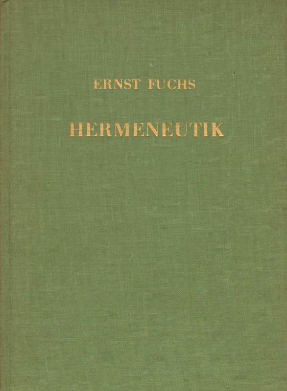Hermeneutik. 2. Auflage mit Ergänzungsheft