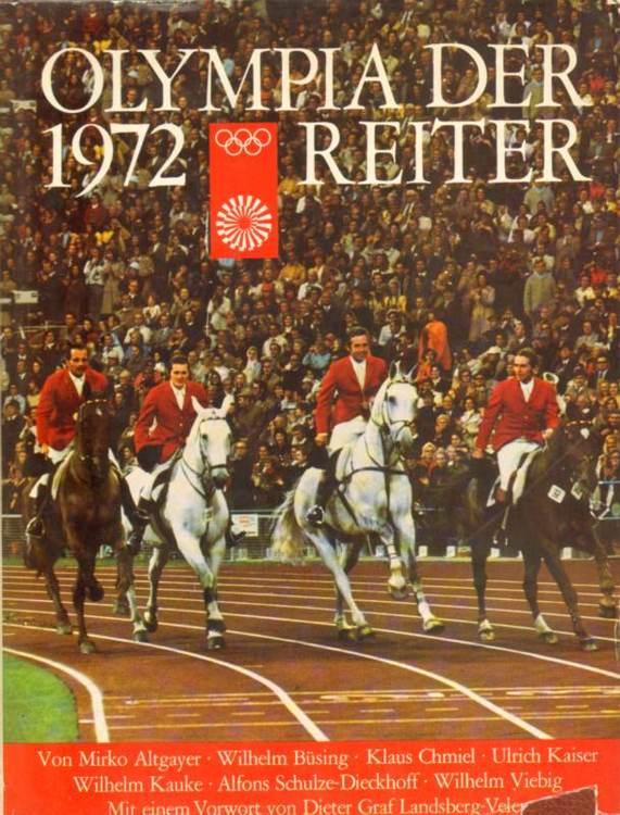Olympia der Reiter 1972.