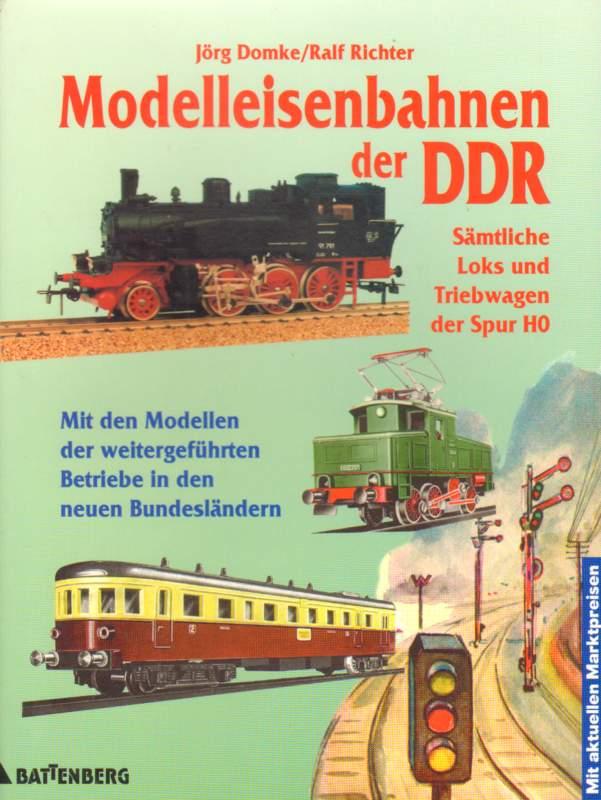 Modelleisenbahnen in der DDR.