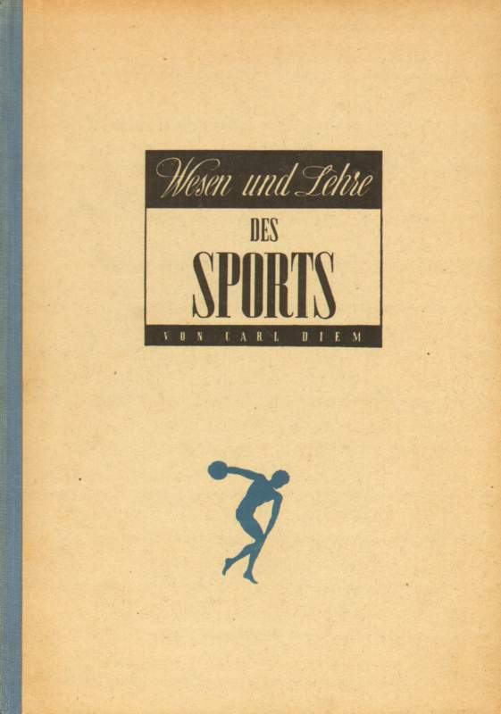 Wesen und Lehre des Sports.