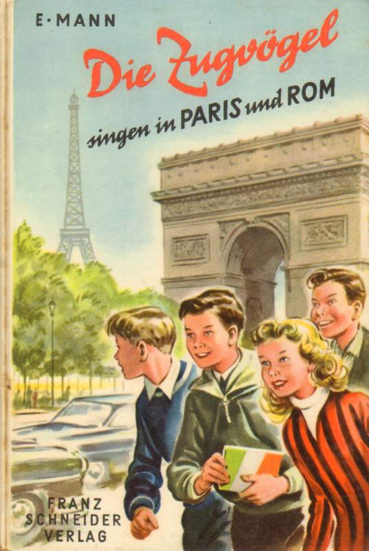Die Zugvögel singen in Paris und Rom.