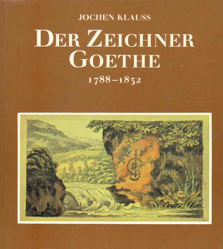 Der Zeichner Goethe - signiert.