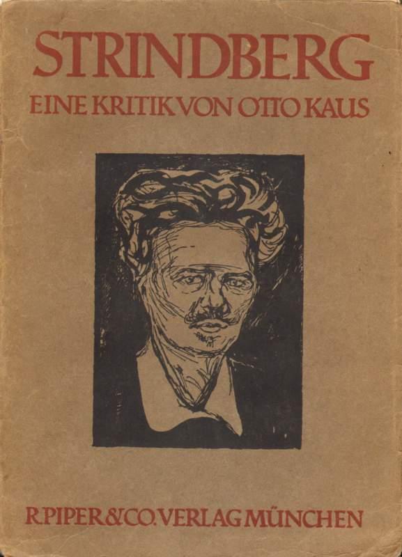 Strindberg. Eine Kritik von Otto Kaus.