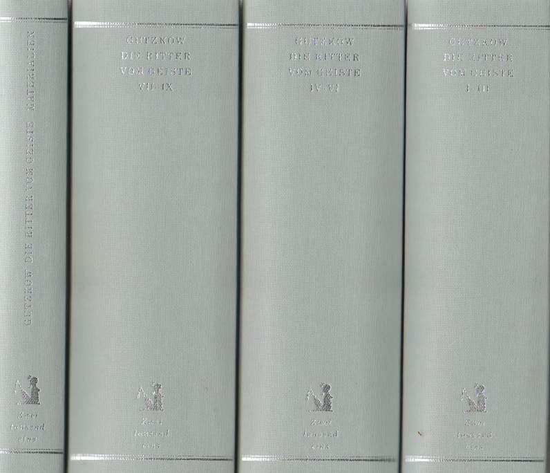 Die Ritter vom Geiste. Roman in neun Büchern . 4 Bände 1. Auflage