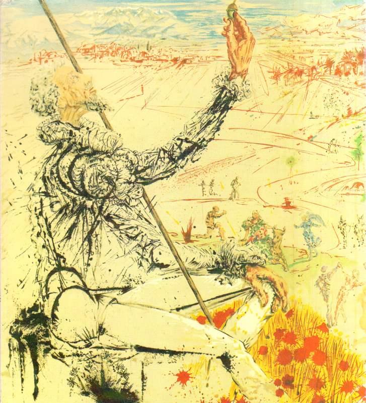 Salvador Dali. Literarische Zyklen.