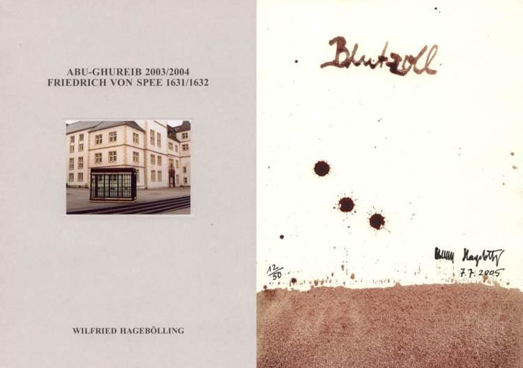 ABU-GHUREIB 2003/2004 . Friedrich von Spee 1631 /1632. Mit Originalgrafik .