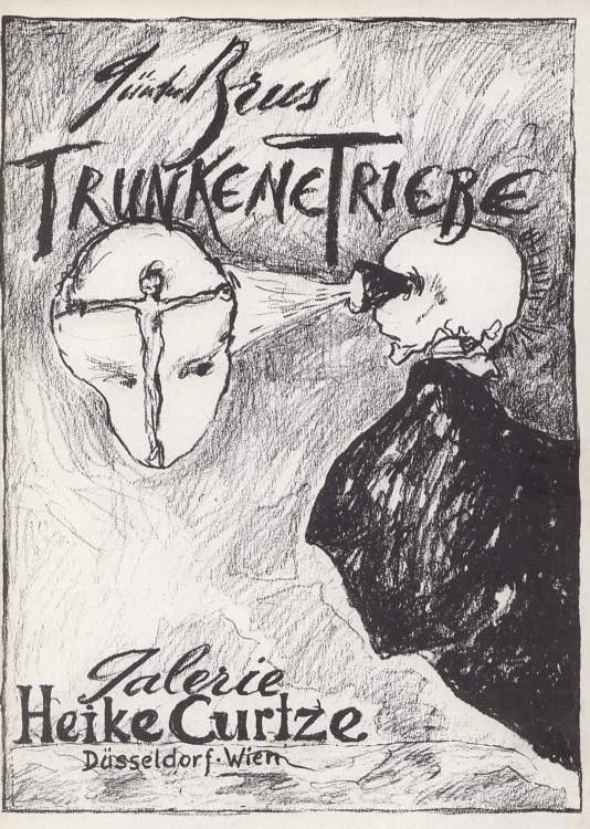 Trunkene Triebe . Zeichnungen 1983 .
