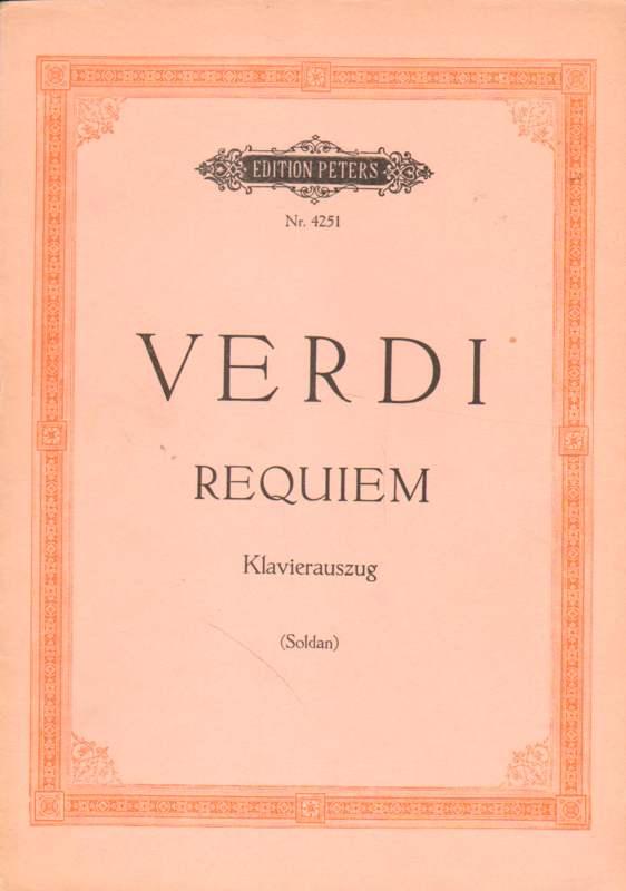Requiem  (Totenmesse).