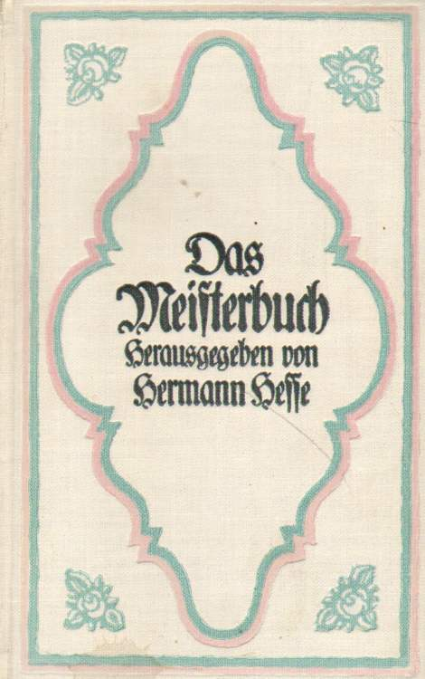 Das Meisterbuch.