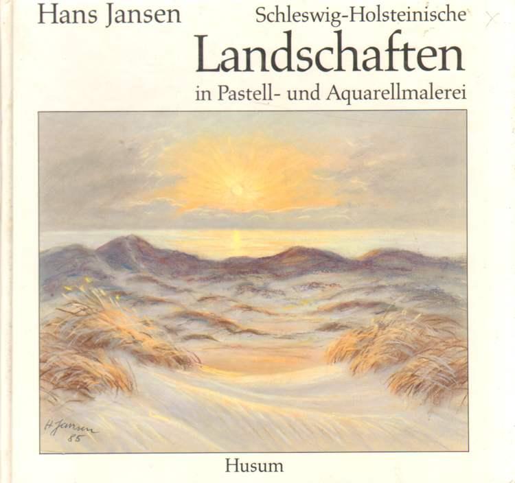 Schleswig-Holsteinische Landschaften in Pastell- und Aquarellmalerei.