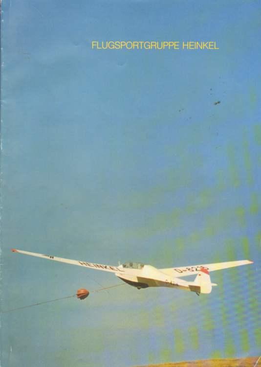25 Jahre Flugsportgruppe Heinkel.